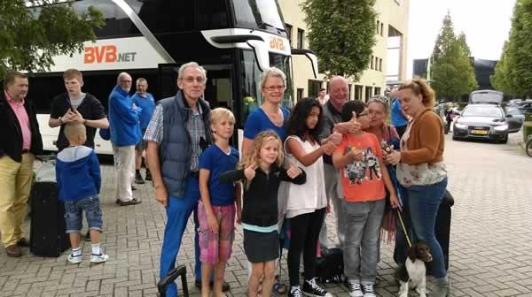 Berlijnse vakantiekinderen in Brabant