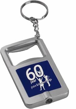 sleutelhanger met logo