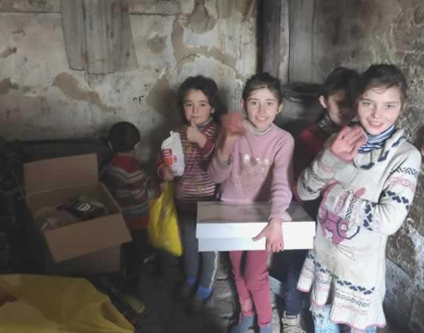voedselpakket voor Armeense gezinnen